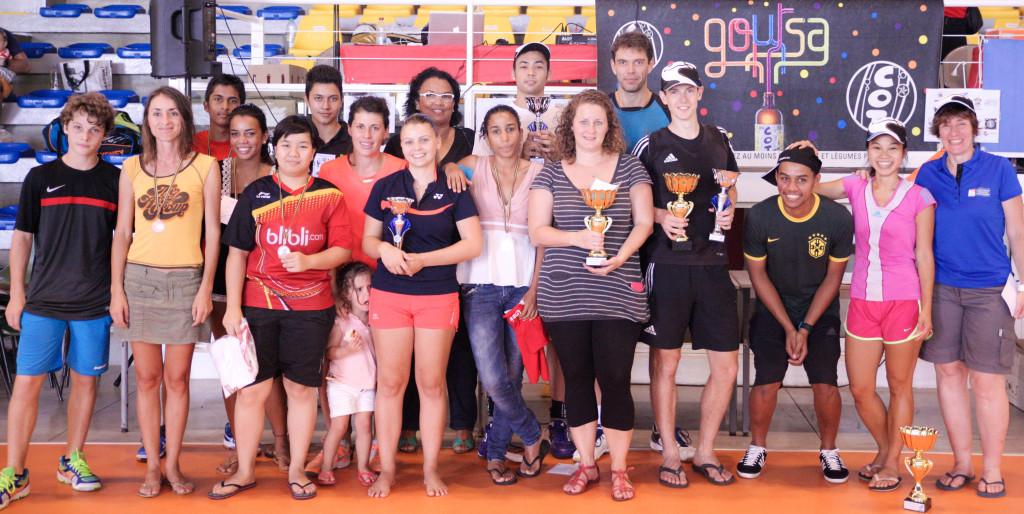 Vainqueurs Tournois BCSPI 2015M